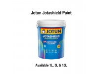 White Colour 15L Jotun Jotashield Antifade Colours Exterior Outdoor Wall Paint Anti Algae & Anti Fungal Cat Dinding Luar Rumah Tahan Cuaca LittleThingy