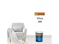 1L Jotun White Colour Majestic True Beauty Sheen Anti Bacteria & Anti Fungal Interior Wall Paint Indoor Cat Dinding Kilat Kilat Dalam Rumah LittleThingy Warna Putih
