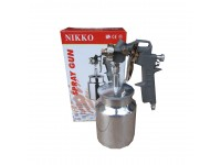 Spray Gun Nikko 162S High Aluminum Alloy Paint 1.5mm Nozzle Suction Spray Cat LittleThingy
