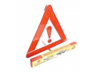 Car Reflective Triangle Warning Emergency Sign Automobile With Stand 3 Segi Kereta LittleThingy