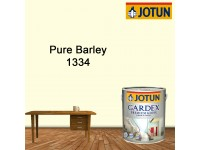 1334 Pure Barley 5L Jotun Gardex Premium Gloss for Wood and Metal Surface Cat Kayu Cat Pintu Besi LittleThingy
