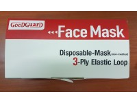 3 Ply Earloop Face Mask 50pcs 1 Box Disposable Mask Effectively Block Dust Gases Droplets Topeng Muka LittleThingy