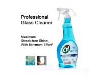 Cif Professional Spray Glass Cleaner Pembersih Cermin LittleThingy