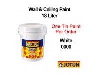 Jotun 18L White 0000 Jotaplast Max 000 Interior Emulsion Wall Paint Ceiling Paint Cat Dinding Rumah Warna Putih LittleThingy