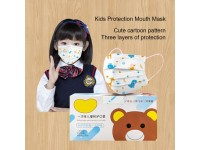 10 Pieces 3ply Kids Mask Disposable Earloop Face Masks Topeng Muka Kanak Kanak
