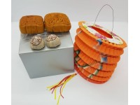 中秋迷你月饼灯笼礼品 Mid Autumn Moon Cake Festival Gift ( Mini Moon Cakes Lantern Tea Pack For Friends Colleague Family