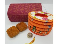 Mid Autumn Gift Moon Cakes Lantern Tea As Mid-Autumn Festival Gift To Friends Colleague Family Moon Cake Festival 中秋月饼礼品