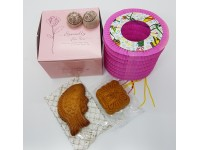 中秋迷你月饼灯笼礼品 Mid Autumn Moon Cake Gift ( Mini Moon Cakes Doll Shape Mooncake Festival Lantern Tea Pack For Friends Colleague Family
