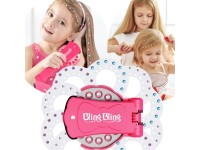 BlingBling Diamond / Gem Styling Tool Set For Girl Hair Style (Round Diamond Included) Blinger Compatible Party Celebration Glam Tools Glam Tools 闪亮钻石魔发师