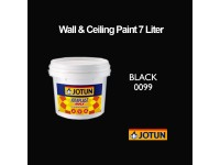 Jotun 7L Black 99 Jotaplast Max Interior Emulsion Wall Paint Ceiling Paint Cat Dinding Rumah LittleThingy