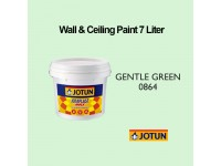Jotun 7L Gentle Green 864 Light Green Jotaplast Max Interior Emulsion Wall Paint Ceiling Paint Cat Dinding Rumah Warna Hijau Terang LittleThingy