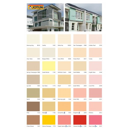 1970 Osmanthus 5L Jotun Essence Cover Plus Matt Gold Colour Interior Wall Paint Easy Wash Cat Dinding Dalaman Senang Dicuci