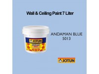 Jotun 7L Andaman Blue 5013 Jotaplast Max Interior Emulsion Wall Paint Ceiling Paint Cat Dinding Rumah Warna Biru LittleThingy