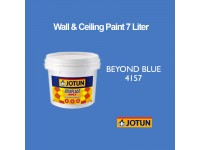Jotun 7L Beyond Blue 4157 Jotaplast Max Interior Emulsion Wall Paint Ceiling Paint Cat Dinding Rumah Warna Biru LittleThingy