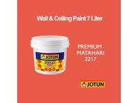 Jotun 7L Premium Matahari 2217 Red Jotaplast Max Interior Emulsion Wall Paint Ceiling Paint Cat Dinding Rumah Warna Merah LittleThingy