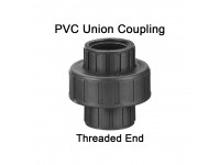 LittleThingy 1/2 Inch to 2 Inches PVC Union Coupling Threaded End (1/2, 3/4, 1, 1-1/4, 1-1/2, 2, 2-1/2, 3 and 4 Inches Available)