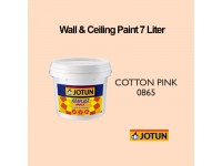 Jotun 7L Cotton Pink 865 Light Pink Jotaplast Max Interior Emulsion Wall Paint Ceiling Paint Cat Dinding Rumah Warna Pink Terang LittleThingy