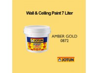 Jotun 7L Amber Gold 872 Jotaplast Max Interior Emulsion Wall Paint Ceiling Paint Cat Dinding Rumah LittleThingy