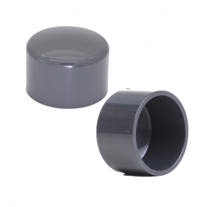 PVC Pipe Fitting Connector End Cap PT Socket Elbow