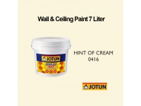 Jotun 7L Hint of Cream 416 Jotaplast Max Interior Emulsion Wall Paint Ceiling Paint Cat Dinding Rumah LittleThingy