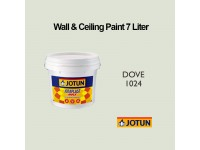 Jotun 7L Dove 1024 Jotaplast Max Interior Emulsion Wall Paint Ceiling Paint Cat Dinding Rumah LittleThingy
