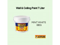 Jotun 7L Mint White 855 Jotaplast Max Interior Emulsion Wall Paint Ceiling Paint Cat Dinding Rumah LittleThingy