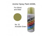 Anchor # 32 Avacado Green Colour 400ml Wood Metal Concrete Anti Rust Aerosol Spray Paint LittleThingy