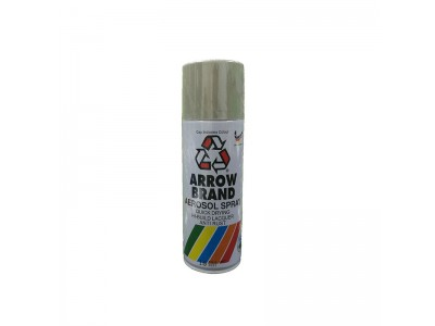 # 16 Pale Grey Colour 400ml Wood Metal Concrete Anti Rust Aerosol Spray Paint LittleThingy