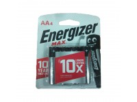 4pcs AA Energizer MAX Alkaline Battery 1.5V - Long Lasting Batteries LittleThingy