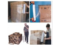 LittleThingy 500MM, 2.4kg Clear Stretch Film Wrap / Packing Transparent Wrapping Roll