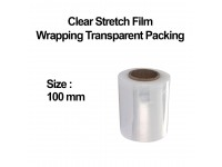 2 Rolls 100mm, 0.3g Clear Stretch Film Wrapping Transparent Packing Packaging LittleThingy