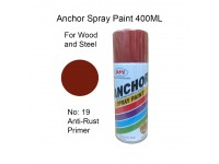 # 19 Anti Rust Primer Undercoat Colour 400ml For Wood Metal and Concrete Anchor Brand Aerosol Spray Paint LittleThingy