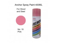 # 18 Pink Colour 400ml Wood Metal Concrete Anti Rust Aerosol Spray Paint LittleThingy