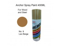 # 9 Leo Beige Colour 400ml For Wood Metal and Concrete Anchor Brand Aerosol Spray Paint LittleThingy
