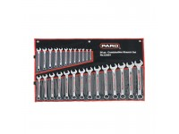 26pcs PARD 6-32mm Chromed Combination Wrench Spanner Set Made From Taiwan LittleThingy