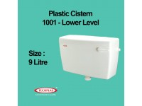 9 Litre TECHPLAS 1001-LL Low Level Single Flush Water Cistern LittleThingy