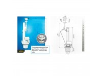 LittleThingy S210 Techplas Lever Flushing Cistern Accesories
