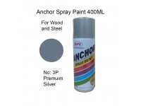 # 3P ★ Premium Silver Colour 400ml For Wood Metal and Concrete Anchor Brand Aerosol Spray Paint LittleThingy