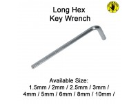 8MM Long Hex Key Wrench Black Hand BH-047 LittleThingy